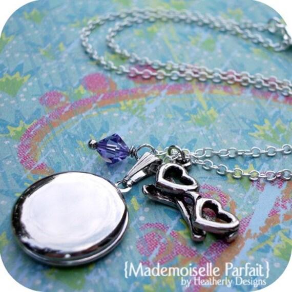 locket baubles children's necklace