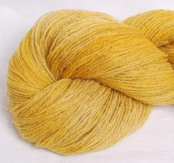 Kettle Dyed 2ply  Laceweight Shetland wool yarn  100g
