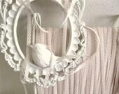 B L U S H I N G - Pale Pink Vintage Lace - 12 Yards - number 37 - LAST ONE