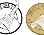 Custom (The Write Gripe) logo for mjlkhk