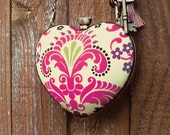 The Heart Minaudiere Clutch Purse Pattern and Frame Set