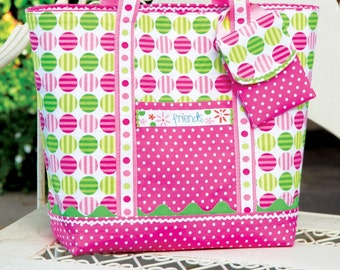PDF Download of Reversible Tote Bag Sewing Pattern (#104)