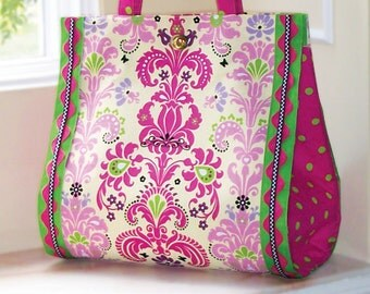 The Bon Vivant Bag Pattern - Large Purse Sewing Pattern (#114)