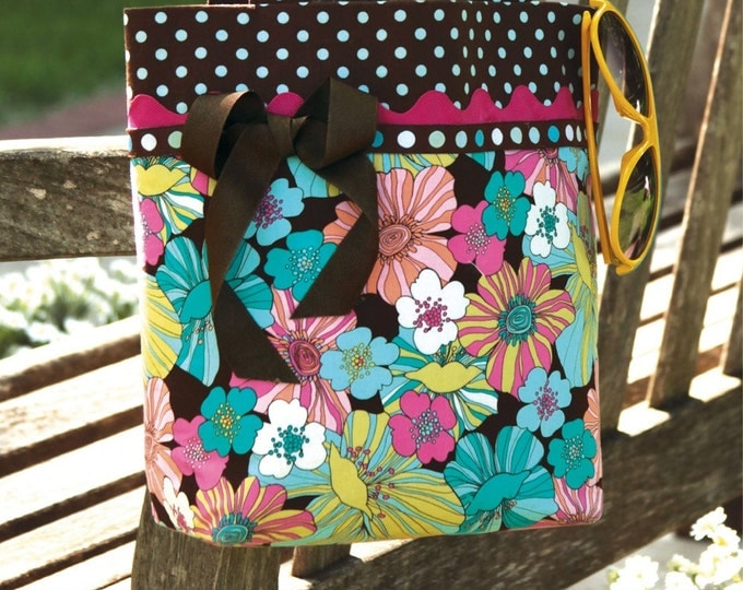 The Provence Tote Bag DIY Purse Sewing Pattern (#101)