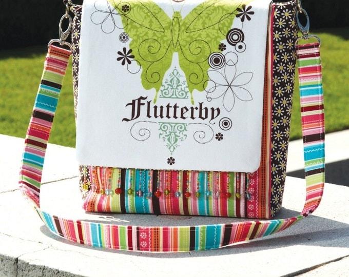 PDF Download of The DIY Retro Messenger Bag DIY Pures Sewing Pattern (#107X)