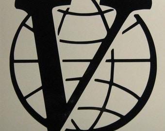 Venture Brothers Industries logo vinyl decal sticker Bros.