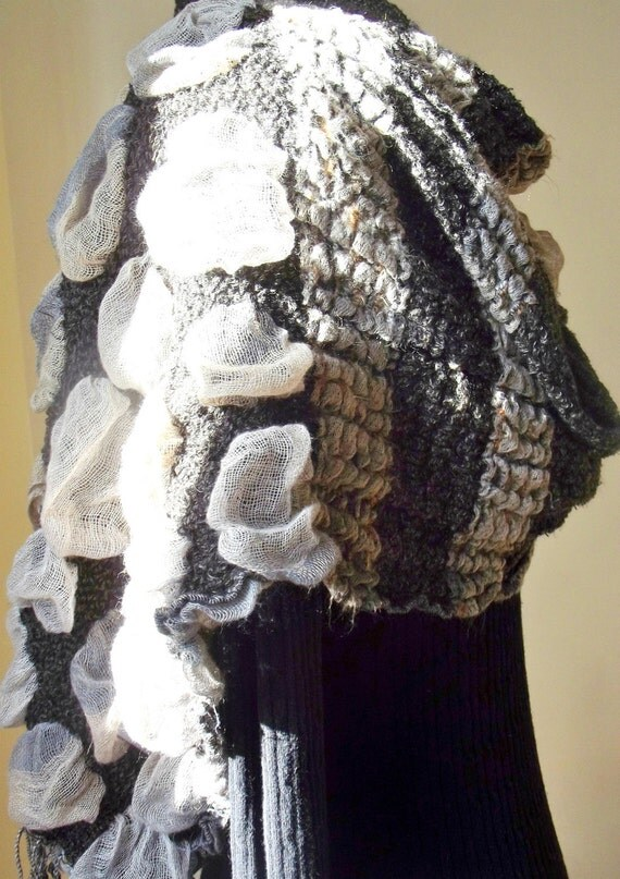 Marbar13 Etsy Sale Knit Ruched Scarf