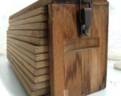 Antique wooden chest/cigar drying box or trunk