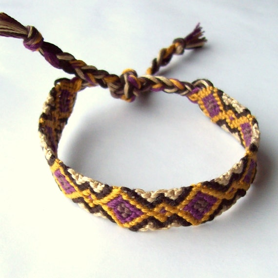 Muata Friendship Bracelet -Made to Order - hand woven