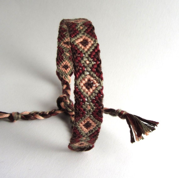 Yuma Friendship Bracelet -Hand Woven -Made to Order