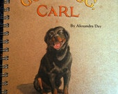 Good Dog Carl  journal made with recycled paper