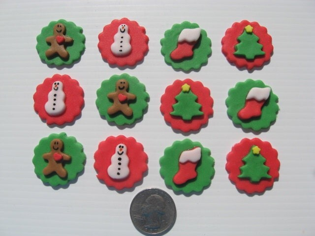 Edible Cake Pop Decorations : Cake Pop Decorations Christmas Cake Pop Decorations Edible