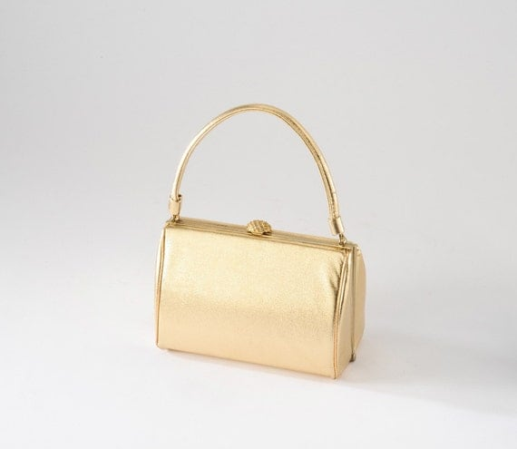 Vintage Gold HL Evening Bag