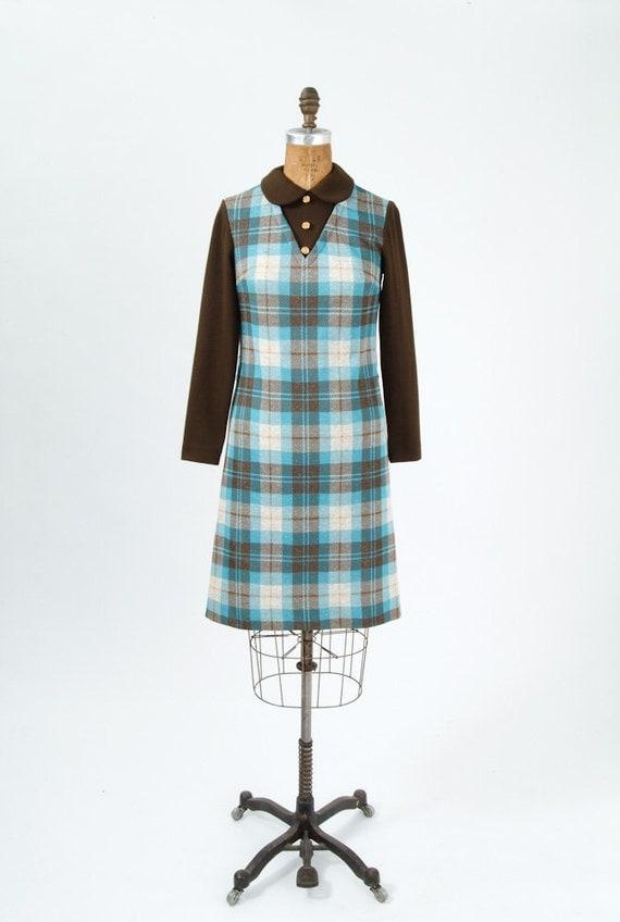 Plaid Shirt Dress Women