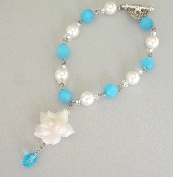 Turquoise pearl bracelet - Ultimate in Elegance collection
