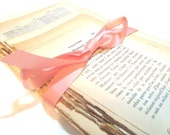 Vintage French Paper Pack - Book Pages Ephemera Pack of 35 Sheets - Buy 2 Get 1 FREE