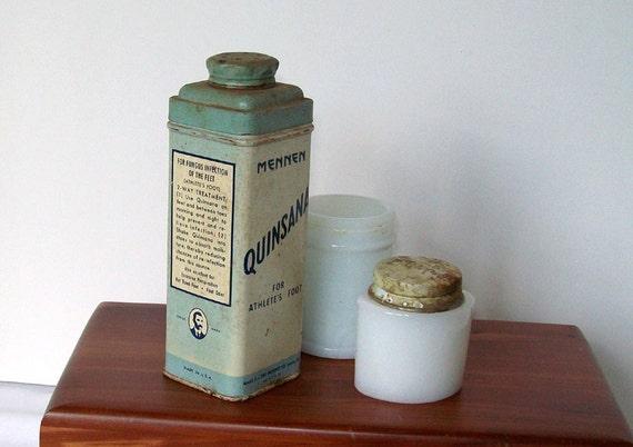 Vintage makeup tins Etsy