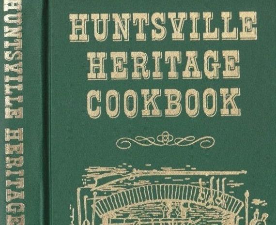 vintage cookbook huntsville heritage alabama junior league