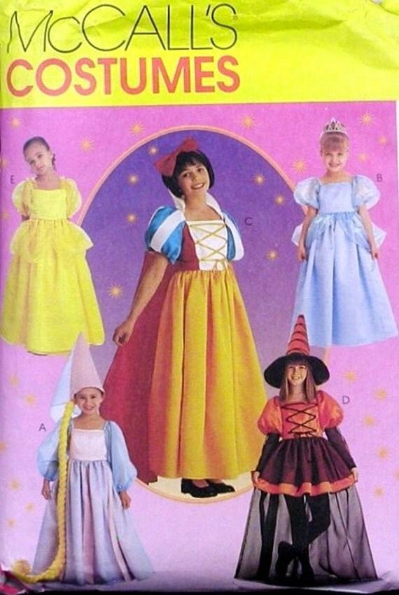 McCall's 8895 Rapunzel Disney Princess Pattern UNCUT 7 8 10