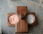 WALNUT SALT BOX