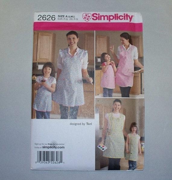 New Simplicity Apron Pattern 2626