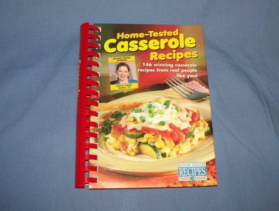 Cookbook, Casseroles