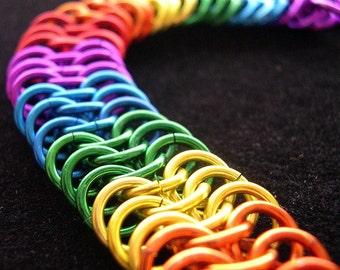 Bright 'n Shiny Rainbow Bracelet - Euro 6-in-1 Pattern