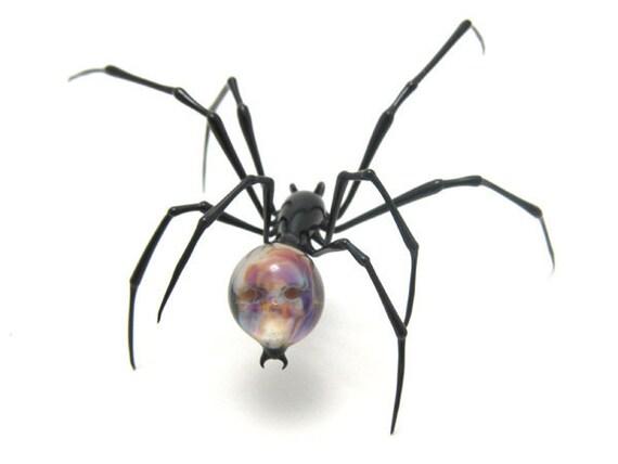 Amber Skulback Spider