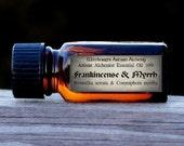 FRANKINCENSE & MYRRH (Boswellia serrata, Commiphora myrrha) Artisan Alchemist™ Essential Oil 10% for Rituals of High Magick, Spirit Visions