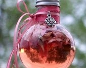 ROSEWATER Vintage Inspired Traditional Potion w/ Rosa Damascena Rosebuds for Love, Romance, Dreams, Divination, Protection, Good Luck