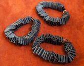 Bicycle Inner Tube Bracelets -- Set of 3