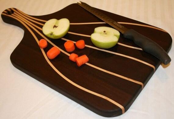 Custom pin striped cutting board