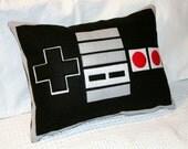 Nintendo Controller- 12x16 inch Pillow Cover- Eco Friendly