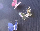 Set of Three Realistic Butterfly Skreen Sav'rs
