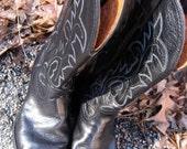 Vintage Durango West Cowboy Boots