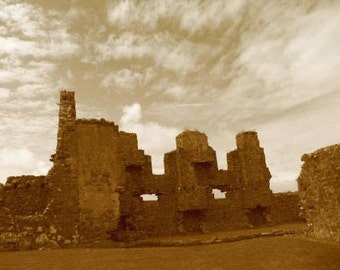 Dunluce Castle - Fine Art Photograph by Denise Sloan