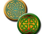 Celtic Design - 1 inch circles - Digital collage sheet
