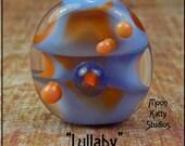 Lullaby- Lampwork Glass Focal Bead