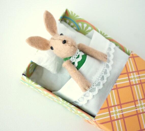 Bunny plush green