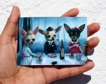 ACEO/ The Secret Tea Party / Ilona Cutts