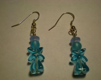 Flower Fairy Drop Earrings