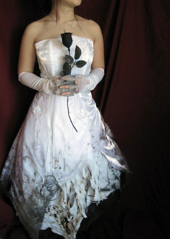 Distressed Wedding Gown Corpse Bride