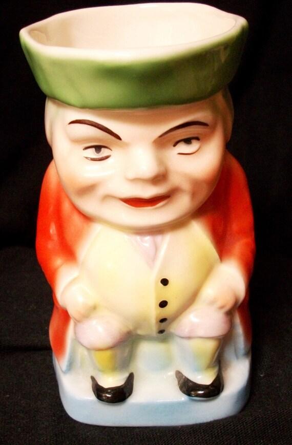 Vintage Pitcher Made in Czechoslovakia Figurine Creamer Home Decor ON SALE NOW
