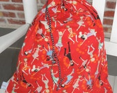 Fancy 20s Flapper Lingerie Travel bag