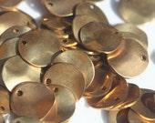 Supplies brass curvy disks