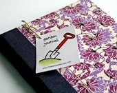 Garden Journal The Essentials with Purple Lotus Flower cover  - Available to Ship NOW