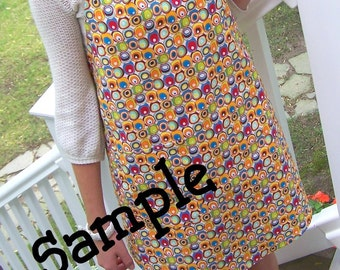 Classic Apron - Vintage Style - CUSTOM Fabric - You Pick the Fabric