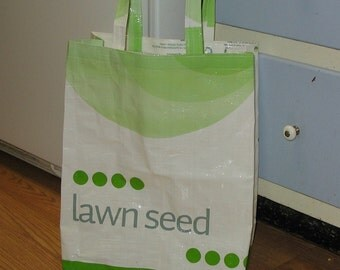 Upcycled Reusable market grocery tote bag