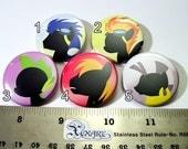 My Little Pony (FIM) Pinback Buttons Friendship is Magic set 4  (1 button)