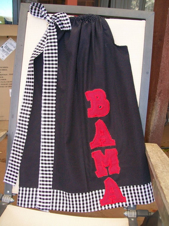 Alabama Pillowcase Dresses